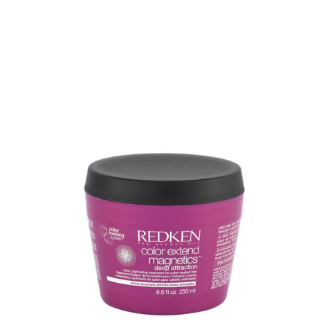 Redken Color extend magnetics Deep attraction mask 250ml - maschera capelli colorati