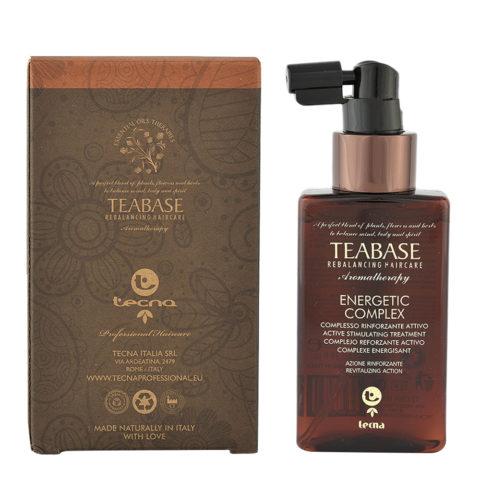Tecna Teabase aromatherapy Energetic complex 100ml - trattamento energizzante per capelli deboli