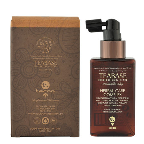 Tecna Teabase aromatherapy Herbal care complex 100ml - trattamento esfoliante