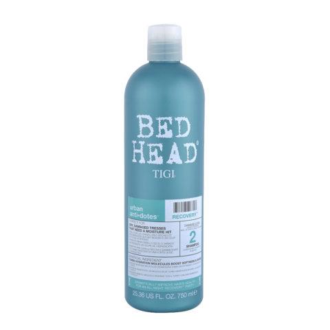 Tigi Urban Antidotes Recovery Shampoo 750ml - shampoo riparatore livello 2