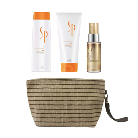 Wella SP After sun kit shampoo 250ml conditioner 200ml free Luxe Oil 30ml pouch