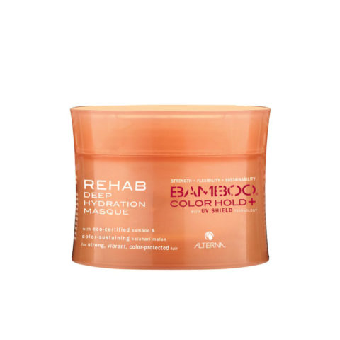 Alterna Bamboo Color Hold UV shield Rehab deep hydration masque 142gr - maschera per capelli colorati