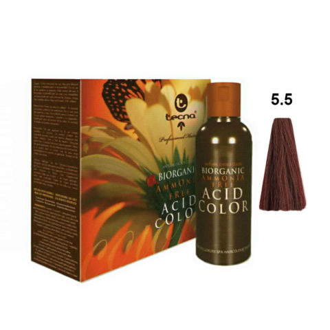 5.5 Castano chiaro mogano Tecna NCC Biorganic acid color 3x130ml