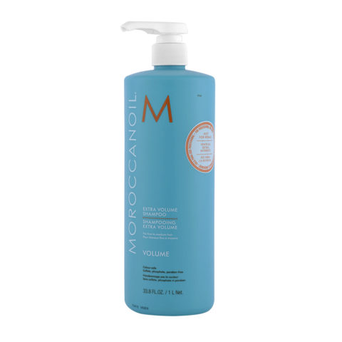 Moroccanoil Extra volume shampoo 1000ml - shampoo super volume