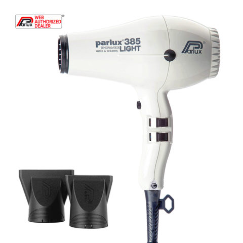 Parlux 385 Powerlight Ionic & Ceramic Bianco - asciugacapelli