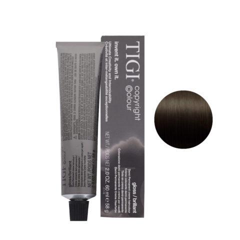 3/0 Marrone scuro naturale Tigi Gloss 60ml