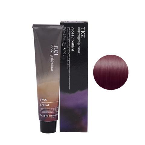 5/26 Ramato chiaro viola marrone Tigi Gloss 60ml