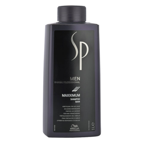 Wella SP Men Maxximum Shampoo 1000ml - shampoo anticaduta