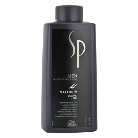 Wella System Professional Men Maxximum Shampoo 1000ml