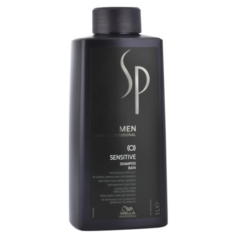 Wella SP Men Sensitive Shampoo 1000ml - shampoo lenitivo