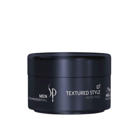 Wella SP Men Textured Style 75ml - Cera Leggera Opaca Per Capelli Fini