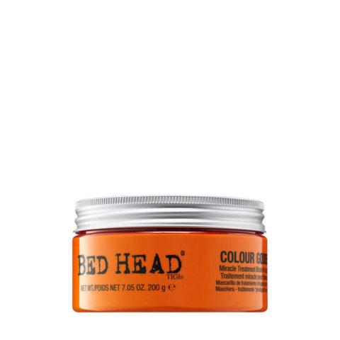 Tigi Bed Head Colour Goddess Miracle Treatment Mask 200gr - maschera prodigiosa capelli colorati