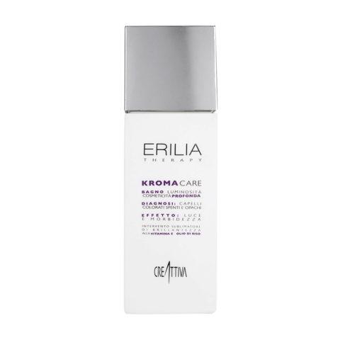 Erilia Kroma Care Bagno Luminosità Cosmeticità Profonda 250ml - shampoo per capelli colorati