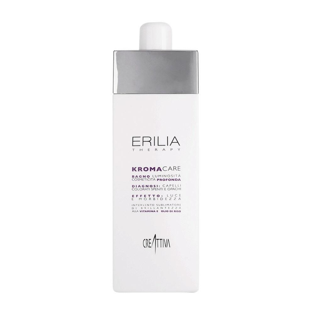 Erilia Kroma Care Bagno Luminosità Cosmeticità Profonda 750ml - shampoo per capelli colorati