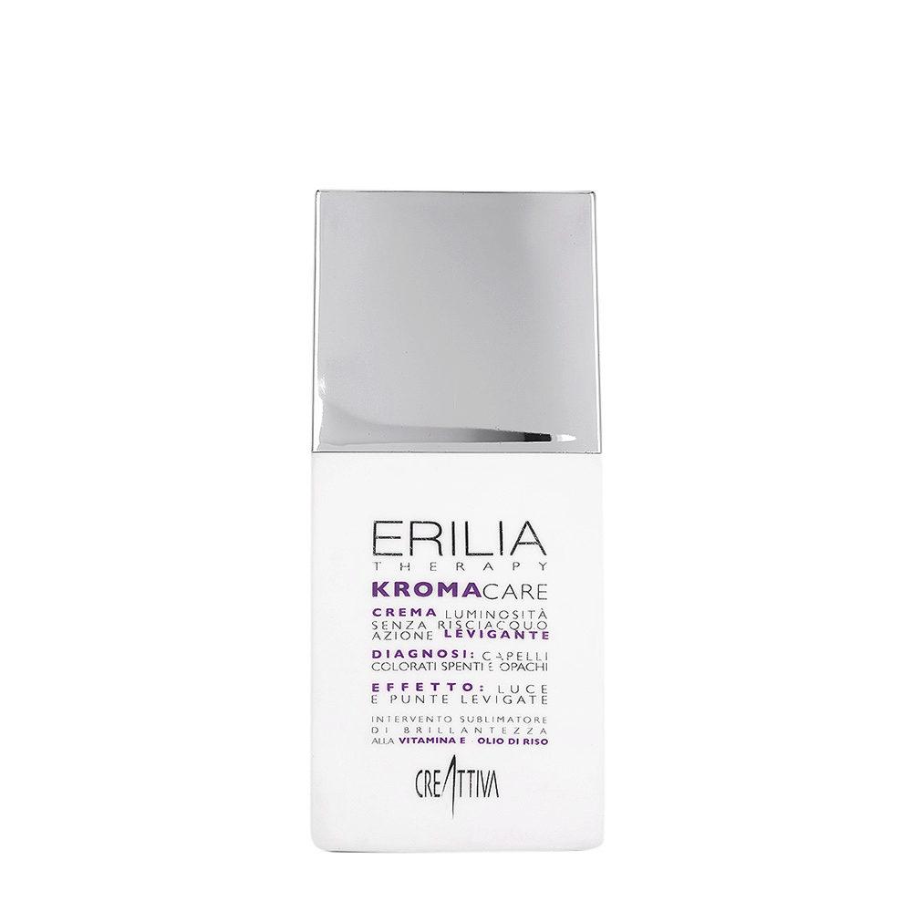 Erilia Kroma Care Crema Luminosità senza risciacquo azione levigante 150ml - per capelli colorati