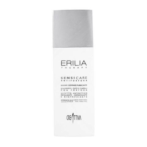 Erilia Sensicare Bagno Peeling Purificante 250ml - shampoo antiforfora