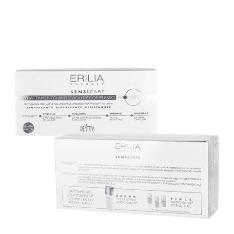 Erilia Sensicare Procapil Trattamento Preventivo Anticaduta 10x8ml - fiale anticaduta