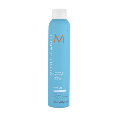 Moroccanoil Luminous Hairspray Finish Medium 330ml - lacca tenuta media