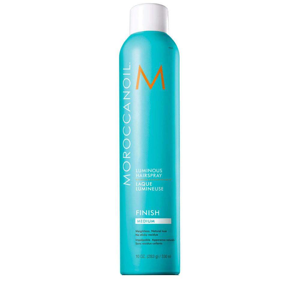 Moroccanoil Luminous Hairspray Finish Medium 330ml - lacca tenuta media