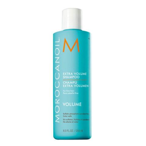 Moroccanoil Extra volume shampoo 250ml - shampoo volumizzante