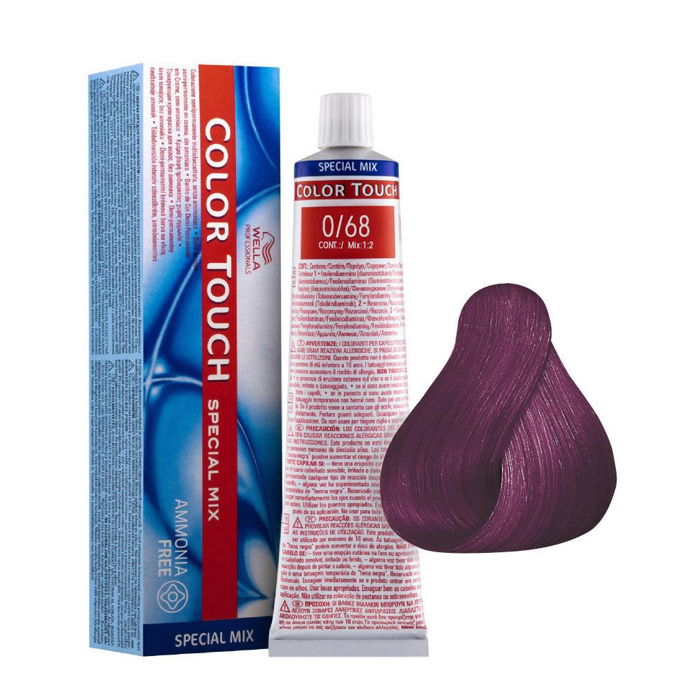 0/68 Viola Bluette Wella Color Touch Special mix senza ammoniaca 60ml