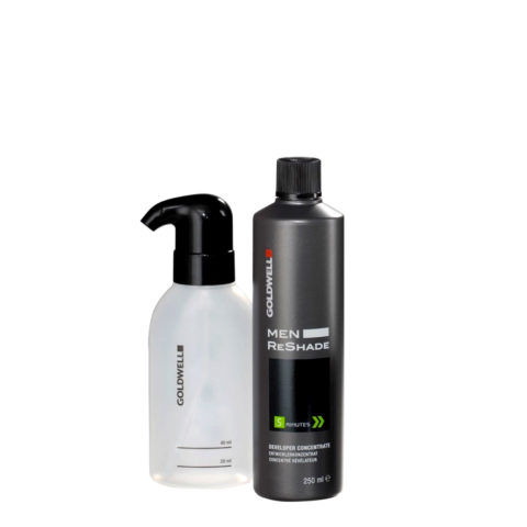 Goldwell Color men reshade Set developer concentrate 250ml   applicatore