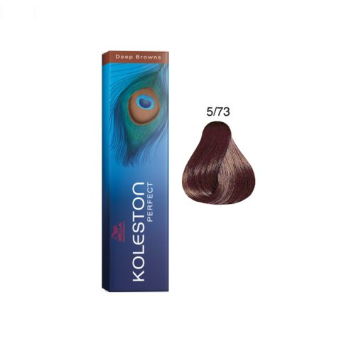 5/73 Castano Chiaro Sabbia Dorato Wella Koleston Perfect 60ml