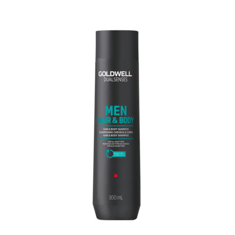 Goldwell Dualsenses men Hair & body shampoo 300ml - shampoo corpo e capelli