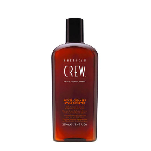 American crew Power cleanser style remover shampoo 250ml - shampoo quotidiano
