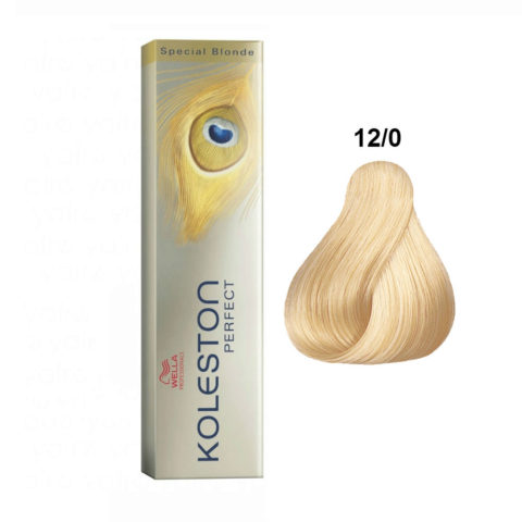 12/0 Naturale Wella Koleston Perfect Special Blonde