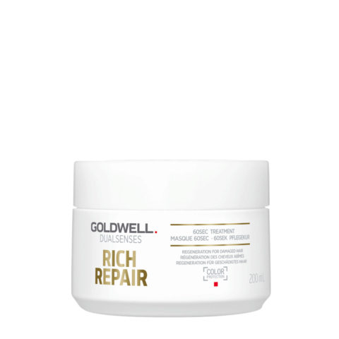 Goldwell Dualsenses rich repair 60sec treatment 200ml - maschera ristrutturante