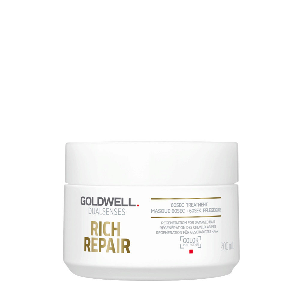 Goldwell Dualsenses rich repair 60sec treatment 200ml - maschera ristrutturante