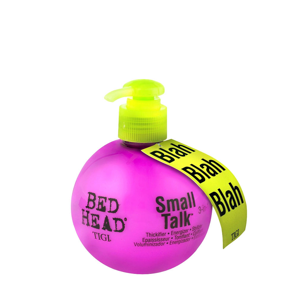Tigi Bed Head Small Talk Blah Blah 200ml - crema ispessente e volumizzante