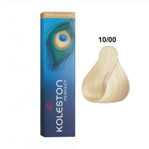 10/00 Biondo Platino Naturale Wella Koleston Perfect Pure Naturals