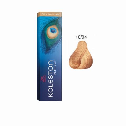 10/04 Biondo Platino Naturale Ramato Koleston Perfect