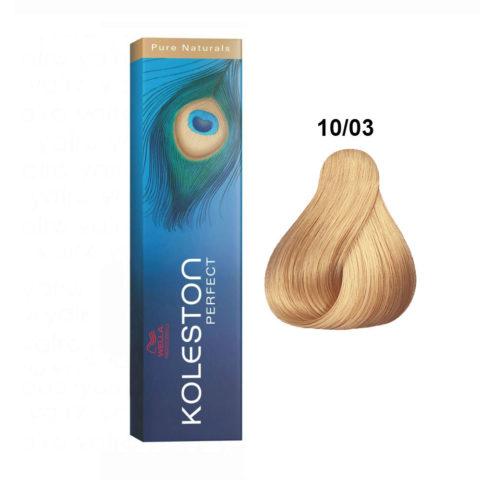 10/03 Biondo Platino Naturale Dorato Koleston Perfect