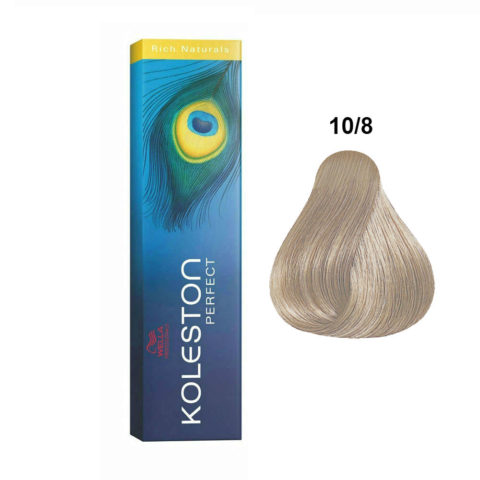 10/8 Biondo Platino Perla Wella Koleston Perfect Rich naturals