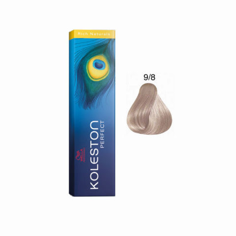 9/8 Biondo Chiarissimo Perla Wella Koleston Perfect Rich Naturals 60ml