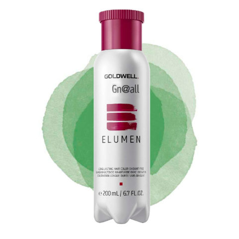 Goldwell Elumen Pure GN@ALL verde 200ml