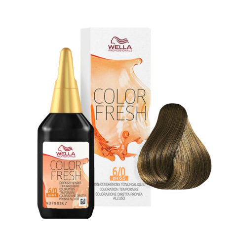 6/0 Biondo scuro Wella Color fresh 75ml