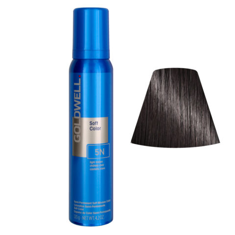 Goldwell Colorance soft color Schiuma colorante 5N Marrone chiaro 125ml