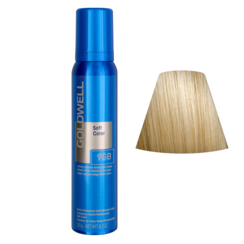 Goldwell Colorance soft color Schiuma colorante 9GB Sahara biondo extra chiaro beige 125ml