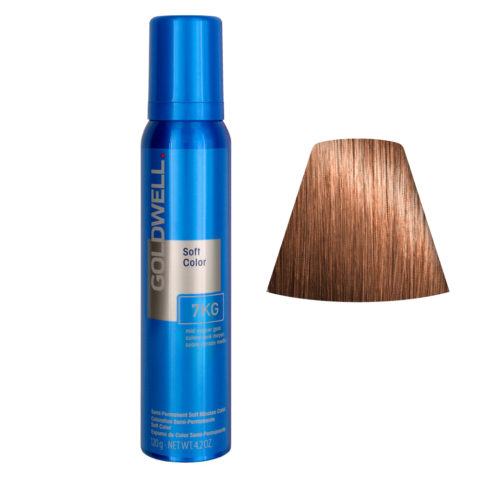 Goldwell Colorance soft color Schiuma colorante 7KG Mid rame oro 125ml