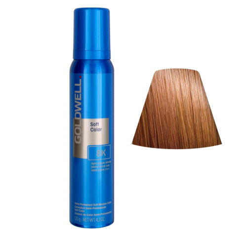 Goldwell Colorance soft color Schiuma colorante 8K Rame biondo chiaro 125ml