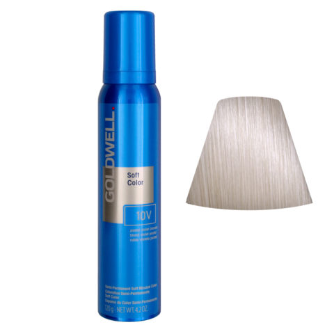 Goldwell Colorance soft color Schiuma colorante 10V Pastello viola biondo 125ml