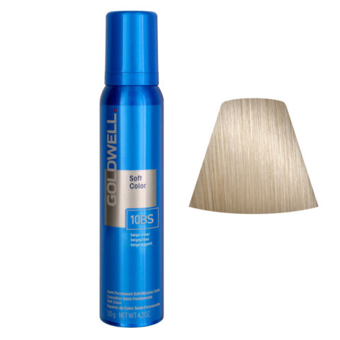 Goldwell Colorance soft color Schiuma colorante Beige Argento 10BS 125ml