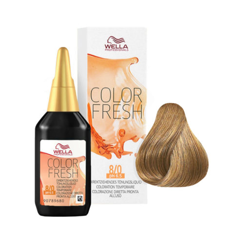 8/0 Biondo chiaro Wella Color fresh 75ml