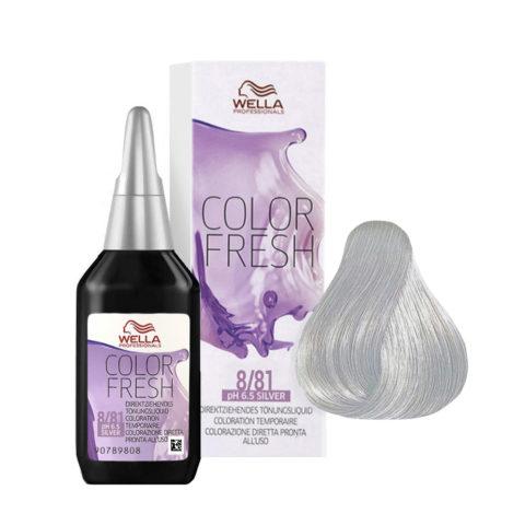 8/81 Biondo chiaro perla cenere Wella Color fresh Silver 75ml