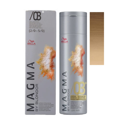 /03 plus Naturale dorato intenso Wella Magma 120gr