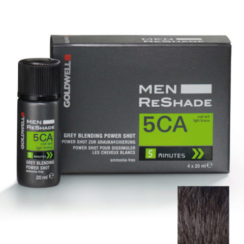 Goldwell Color men reshade 5CA cenere fredda castano chiaro CFM 4x20ml